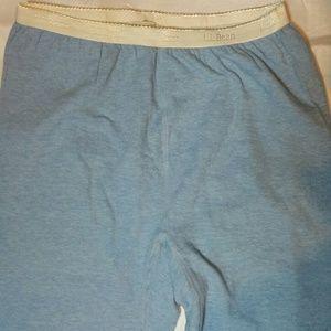 L.L. Bean Layered Warm Thermal Pants Soft L
